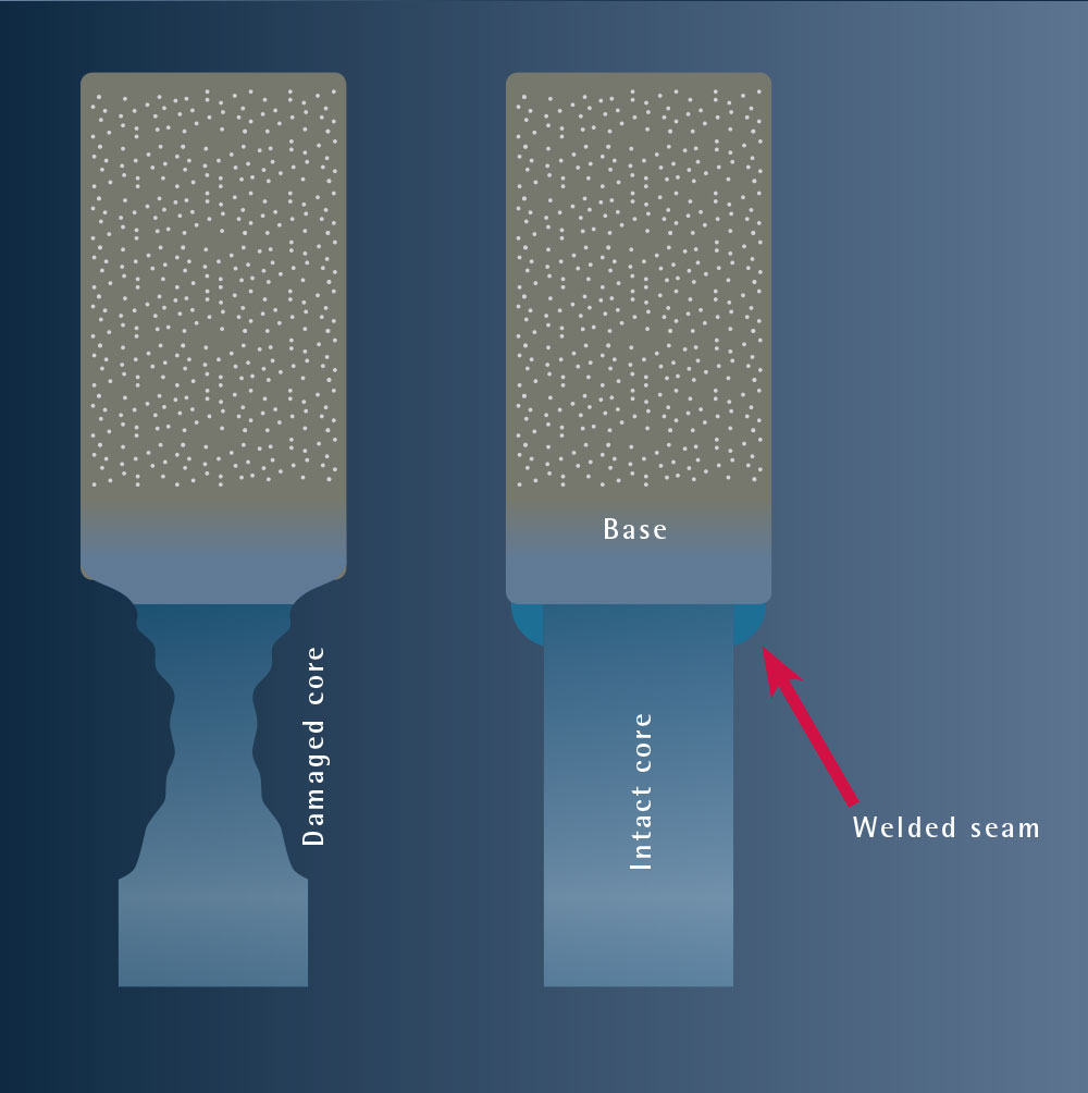 Illustration advantage of laser welding
